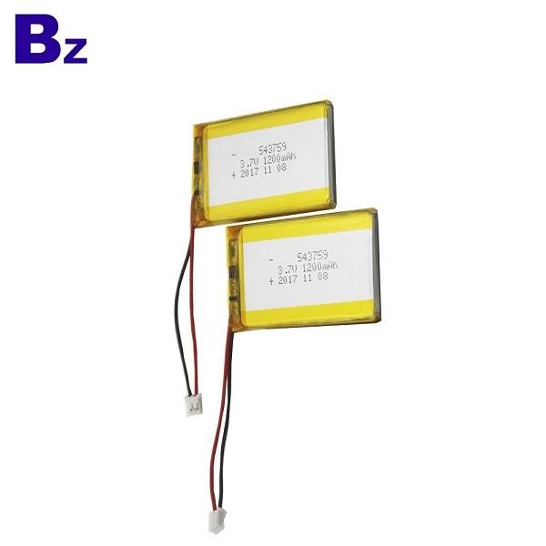 工廠OEM 3.7V鋰電池