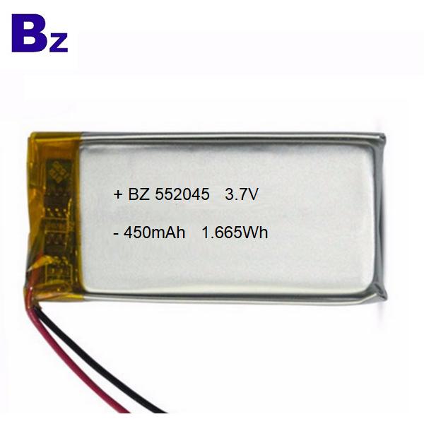 具有KC認證的450mAh Lipo電池