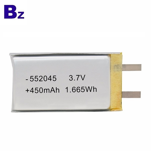 552045 450mAh 3.7V鋰電池