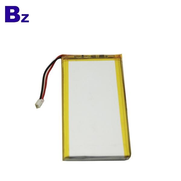 553480 1700mAh 3.7V 可充電鋰聚合物電池