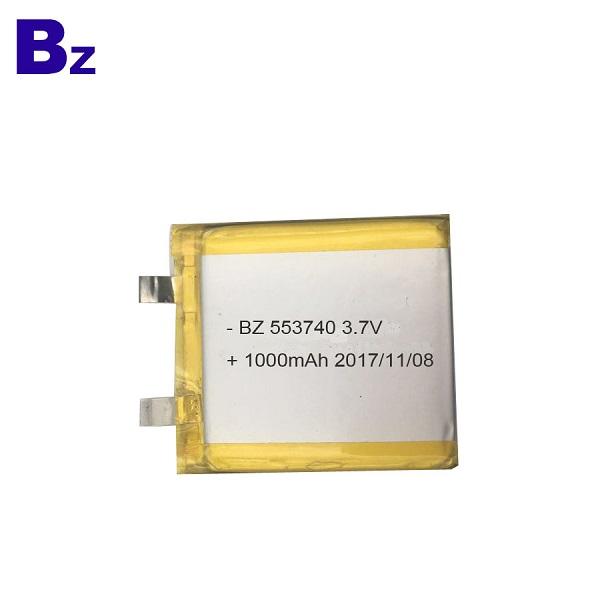1000mAh 3.7V 可充電鋰聚合物電池