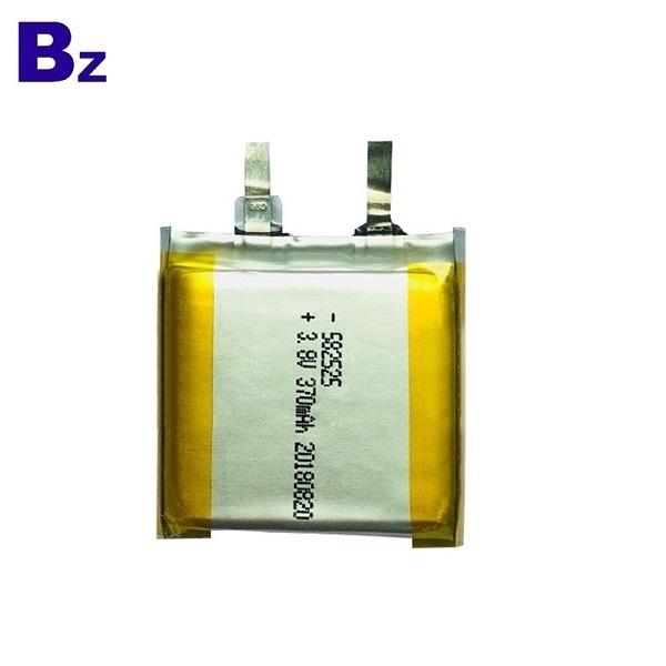 582525 3.8V 370mAh鋰電池