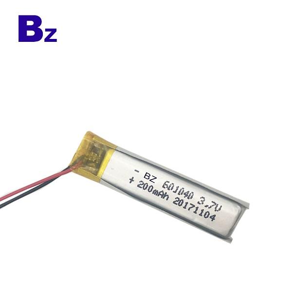 3.7V 鋰離子聚合物數碼電池