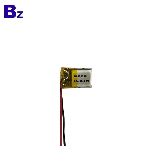 60mAh 3.7V 用於數碼產品的LiPo電池