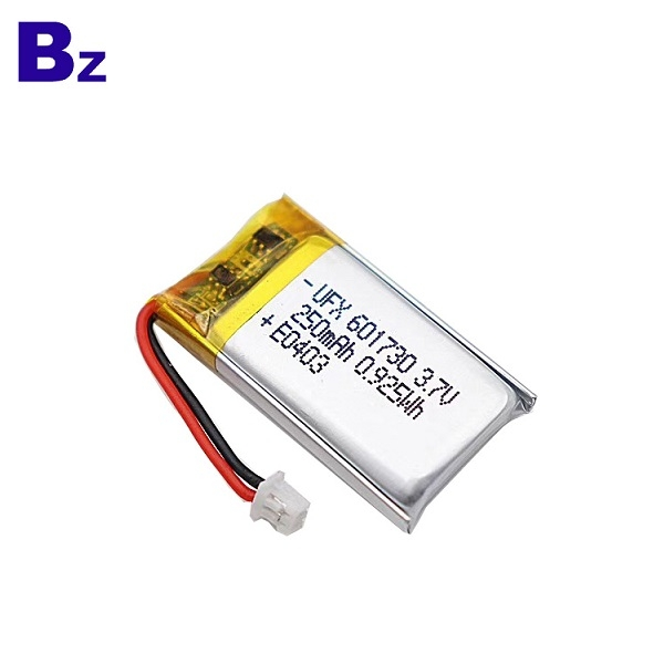用於數碼工具的電池 BZ 601730 3.7V 250mAh