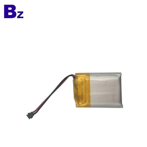 250mAh 3.7V 可充電鋰聚合物電池