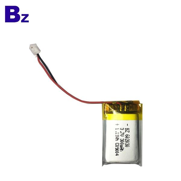 300mAh 3.7V 鋰聚合物電池