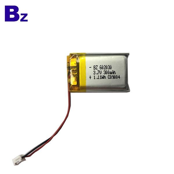 300mAh 鋰聚合物電池