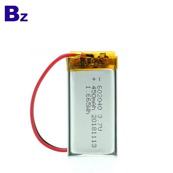 KC認證450mAh鋰聚合物電池