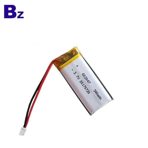 KC認證電池602047