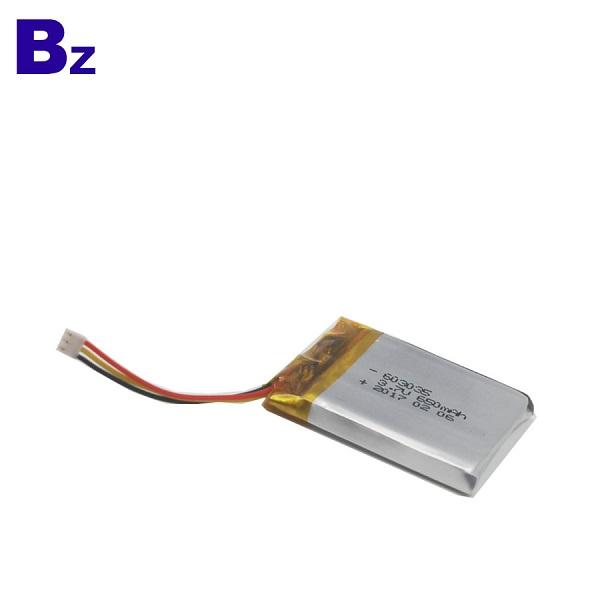 650mAh 3.7V 鋰聚合物電池