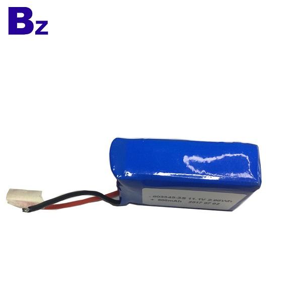 11.1V鋰聚合物電池組