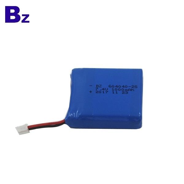 藍牙音箱的可充電電池