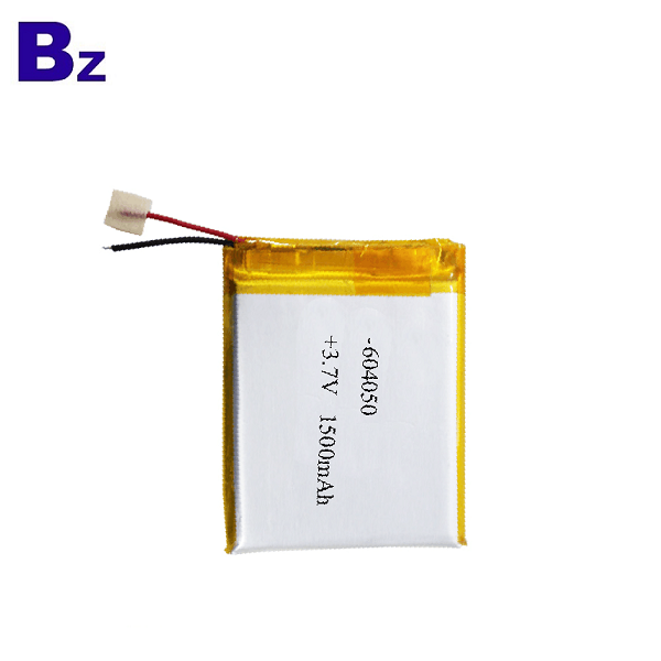 1500mAh 3.7V KC認證鋰離子電池
