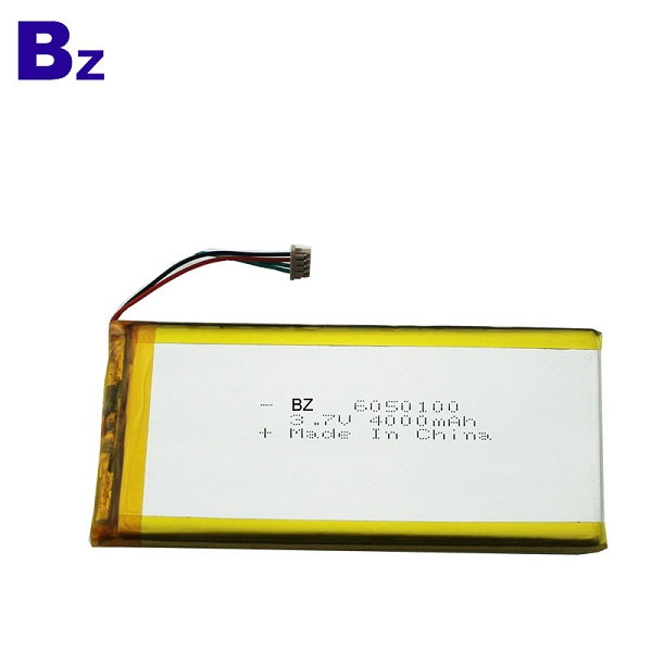 4000mAh 3.7V 可充電聚合物鋰離子電池