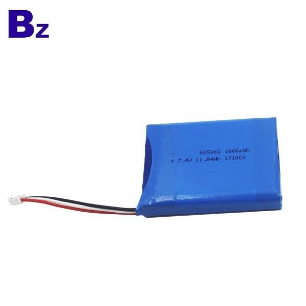 BZ 605060-2S 7.4V 1600mAh 聚合物鋰離子電池