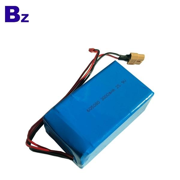 BZ 605080-7S 25.9V 3000mAh 聚合物鋰離子電池組