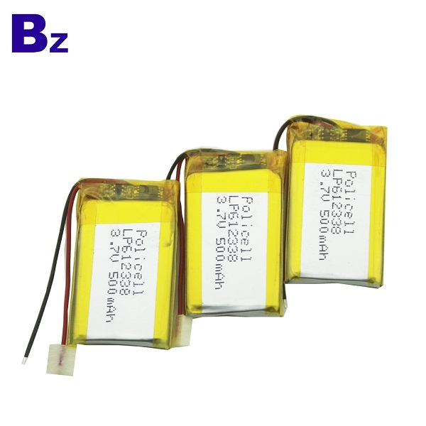 500mAh 3.7V 可充電LiPo電池
