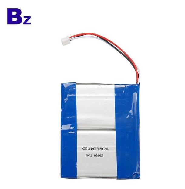 1600mAh鋰聚合物電池