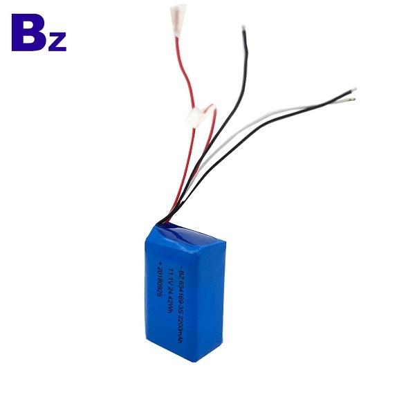 2200mAh 11.1V聚合物鋰離子電池