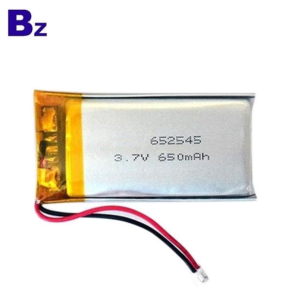 用於按摩棒的650mAh鋰電池