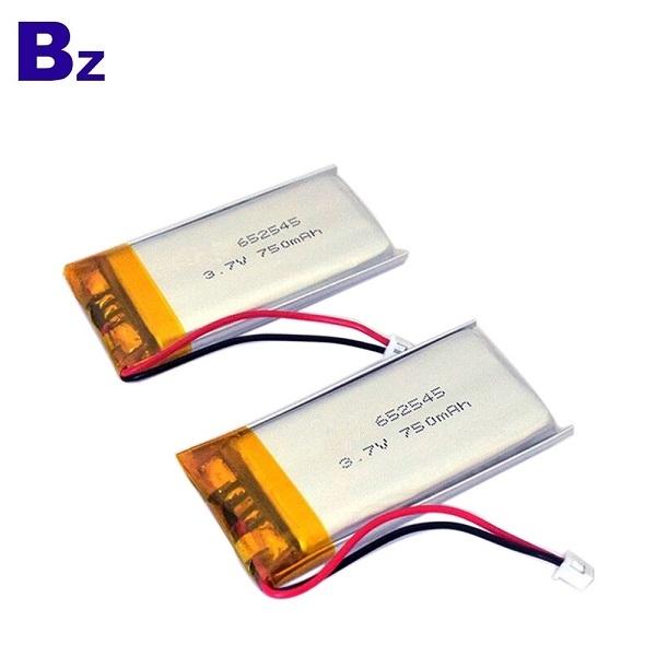 650mAh Lipo電池,具有KC認證