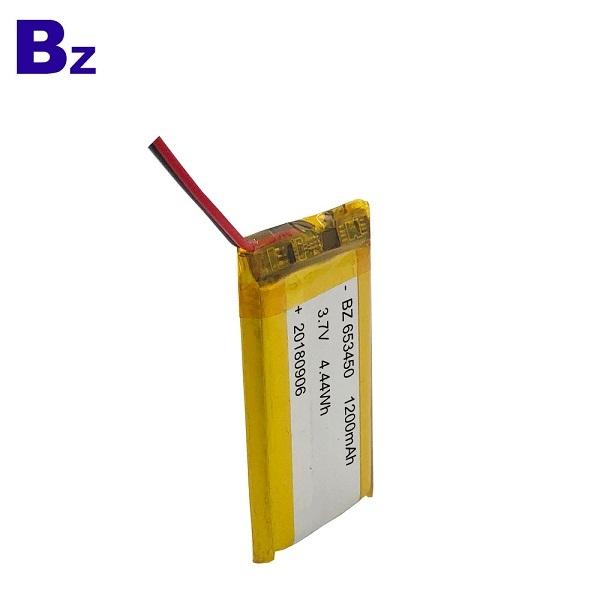 1200mah 3.7V鋰聚合物電池