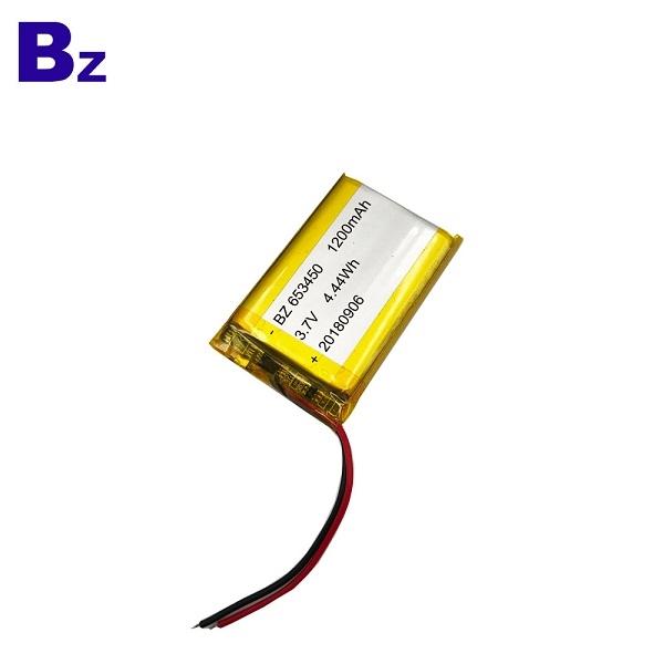 ODM 1200mah 鋰聚合物電池