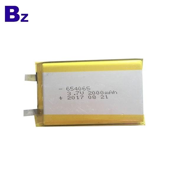 654065 UL認證電池