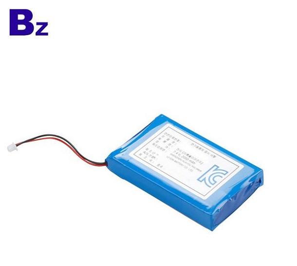 2000mah醫用產品充電式鋰電池