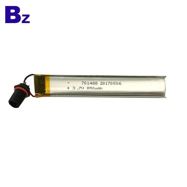 850mah 3.7V鋰電池