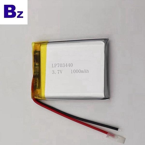 具有KC認證的1000mAh Lipo電池