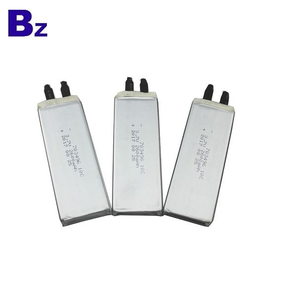 703496 10C 2600mAh 3.7V 適用於數碼產品LiPo電池