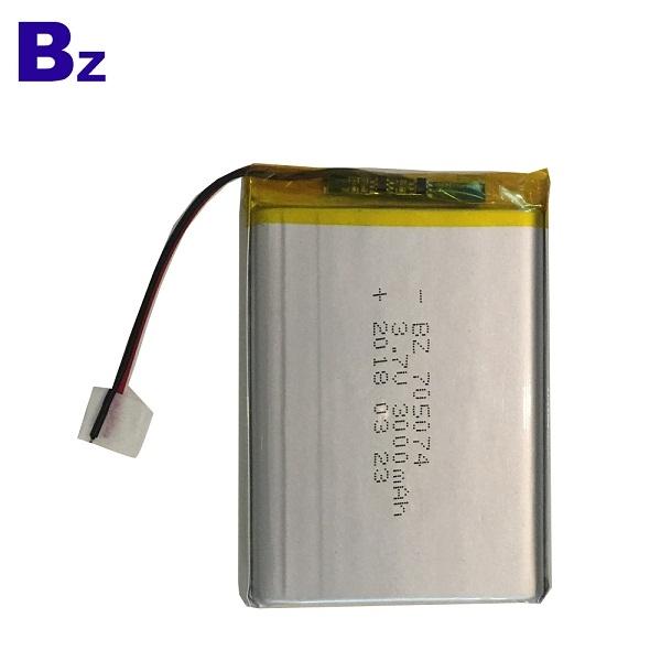705074 3000mah 3.7V 鋰電池