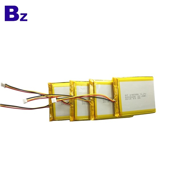 6000mah 3.7V 鋰電池