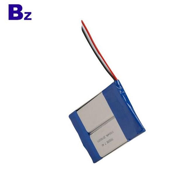 1100mah 7.4V可充電鋰離子聚合物電池