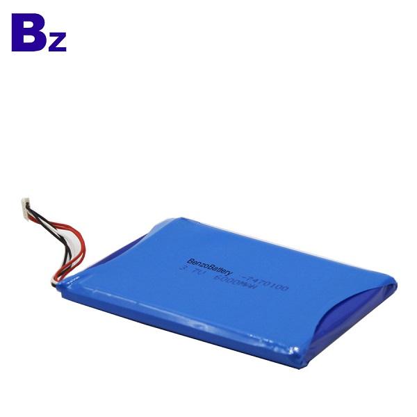 6000mah 適用於醫療產品的鋰電池