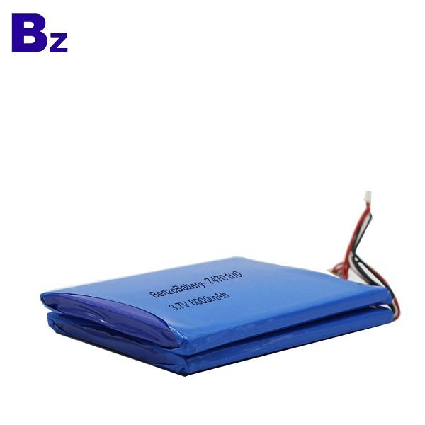 3.7V 適用於醫療產品的鋰電池
