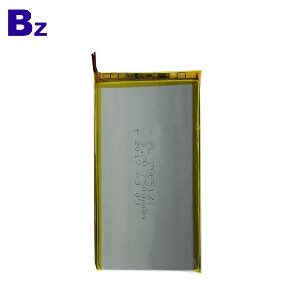 3.7V 7500mAh 鋰電池