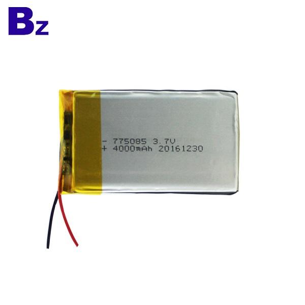 3.7V 可充電聚合物鋰離子電池