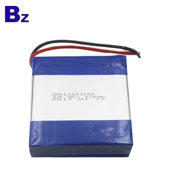 定制熱銷可充電聚合物鋰離子電池 BZ 80100100-4S 14.8V 10AH 鋰電池組