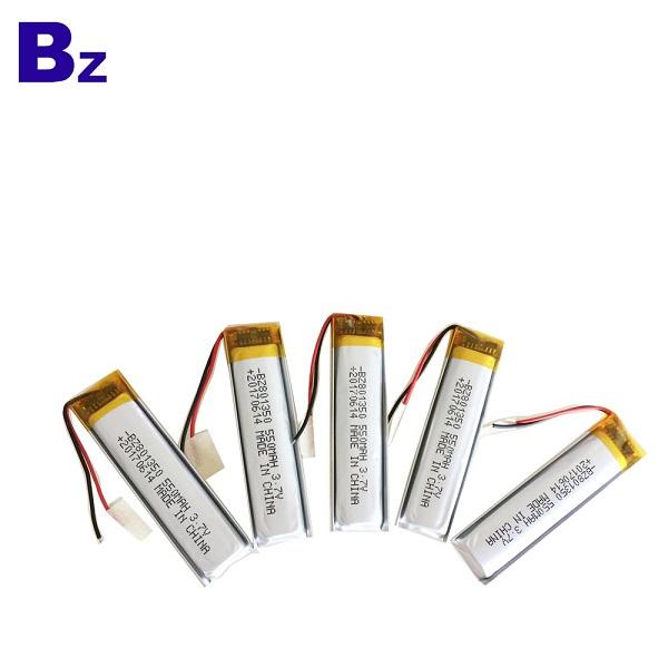 3.7V可充電鋰聚合物電池組