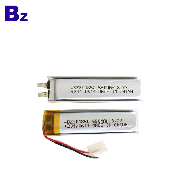 550mah 可充電鋰聚合物電池組