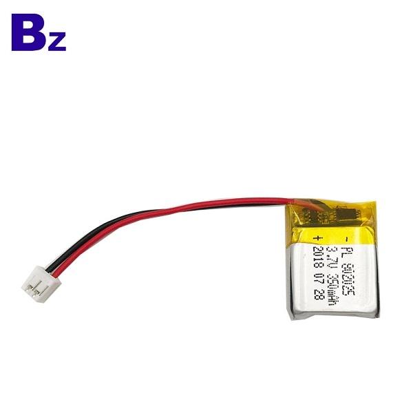 ODM用於藍牙接收器設備的電池