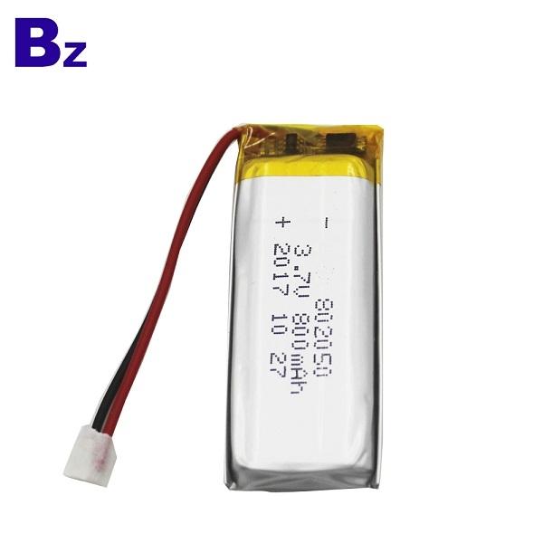 802050 800mah 3.7V 鋰電池