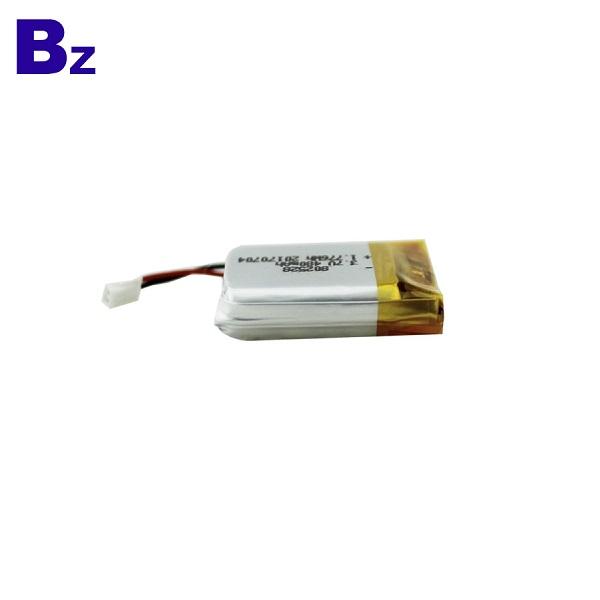 480mAh 用於數碼產品的鋰電池