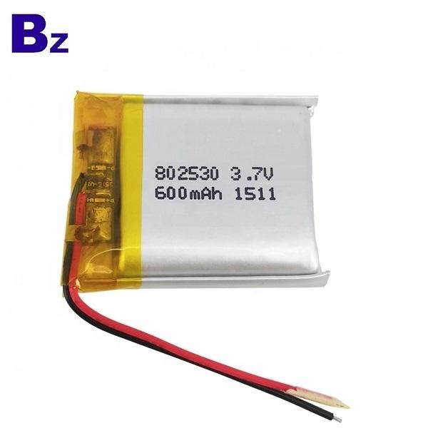 600mAh KC認證鋰電池