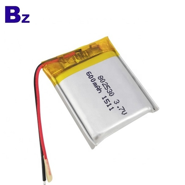 802530 600mAh 3.7V锂电池