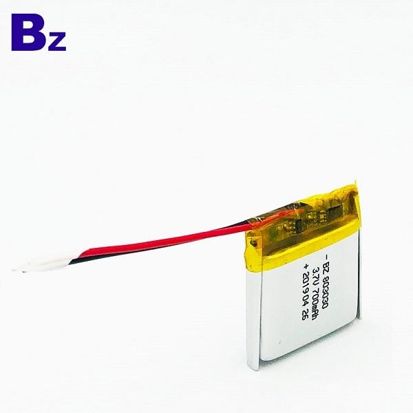 用於對講機電池 BZ 803030 鋰離子電池