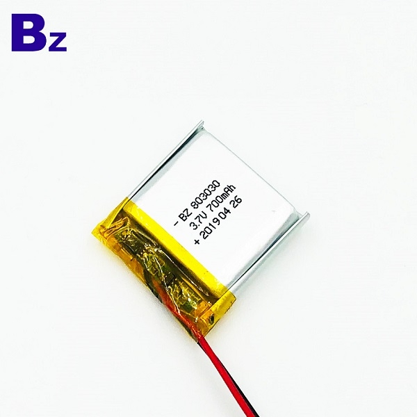 803030 3.7v 700mAh鋰電池